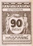 Austria, 90 Heller, FS 357IId