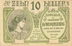 Austria, 10 Heller, FS 358Ie