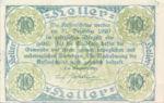 Austria, 10 Heller, FS 358II