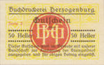 Austria, 50 Heller, FS 369II