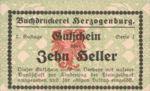 Austria, 10 Heller, FS 369IIIb