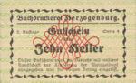 Austria, 10 Heller, FS 369IIIh
