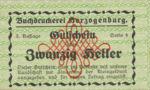 Austria, 20 Heller, FS 369IIIh