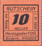 Austria, 10 Heller, FS 373IIIa