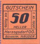 Austria, 50 Heller, FS 373IIIa