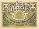 Austria, 10 Heller, FS 374c