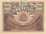Austria, 20 Heller, FS 374c