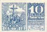 Austria, 10 Heller, FS 377b