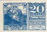 Austria, 20 Heller, FS 377c