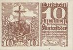 Austria, 10 Heller, FS 377d