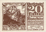 Austria, 20 Heller, FS 377e