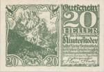 Austria, 20 Heller, FS 377f
