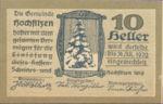 Austria, 10 Heller, FS 382a
