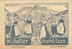 Austria, 90 Heller, FS 382a
