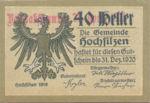 Austria, 40 Heller, FS 382a1