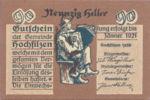 Austria, 90 Heller, FS 382c