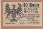 Austria, 40 Heller, FS 382d