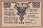 Austria, 60 Heller, FS 382d