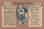 Austria, 90 Heller, FS 382d