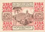 Austria, 50 Heller, FS 387IIIa