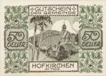 Austria, 50 Heller, FS 387IIIc