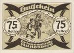 Austria, 75 Heller, FS 402IIa