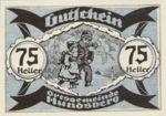 Austria, 75 Heller, FS 402IIb