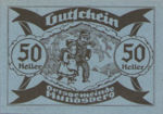 Austria, 50 Heller, FS 402IIf