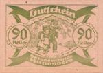Austria, 90 Heller, FS 402IIg