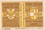 Austria, 10 Heller, FS 405d