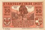 Austria, 50 Heller, FS 405d