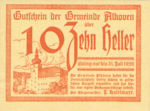 Austria, 10 Heller, FS 18Ib