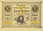 Austria, 10 Heller, FS 18IIb