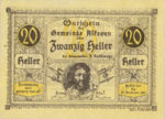 Austria, 20 Heller, FS 18IIb