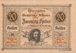 Austria, 20 Heller, FS 18IId