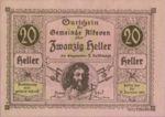 Austria, 20 Heller, FS 18SSIe