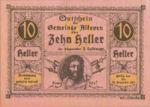 Austria, 10 Heller, FS 18SSIf