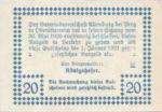 Austria, 20 Heller, FS 26a