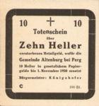 Austria, 10 Heller, FS 26IIIaC?