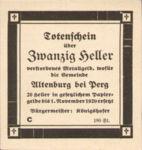 Austria, 20 Heller, FS 26IIIaC?