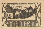 Austria, 40 Heller, FS 27Ic
