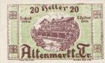 Austria, 20 Heller, FS 29a