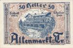 Austria, 50 Heller, FS 29a