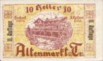 Austria, 10 Heller, FS 29e