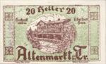 Austria, 20 Heller, FS 29g