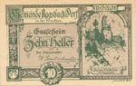 Austria, 10 Heller, FS 8