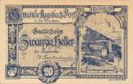 Austria, 20 Heller, FS 8