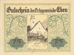 Austria, 75 Heller, FS 141IIc