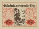 Austria, 50 Heller, FS 141IIf