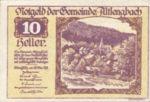 Austria, 10 Heller, FS 33c